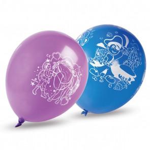 Ballone mit Pferde- und Piraten-Druck (32 Stück/Einheit)
